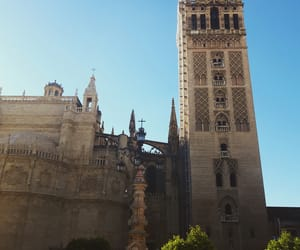 places, seville, and travel image