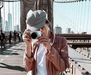camera, girl, and beauty image