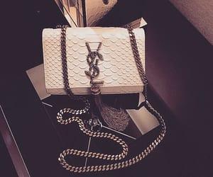 fashion, bag, and YSL image
