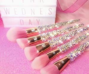 Brushes, diamonds, and glitter image