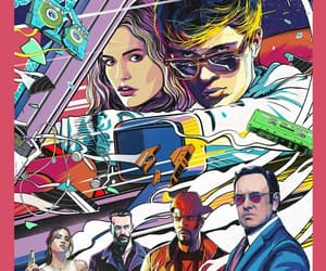 movie, ansel elgort, and baby driver image