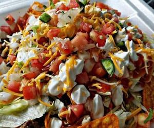 food, nachos, and foodporn image