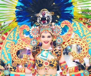 beautiful, makeup, and national costume image