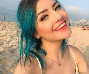 beach, meninas, and smile image