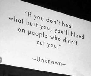 quotes, heal, and hurt image