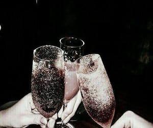 champagne, dark, and vogue image