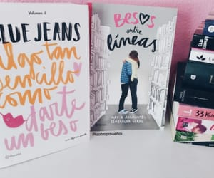 blue jeans, book, and books image