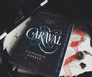book, books, and caraval image