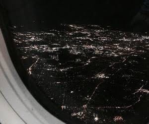 airplane, dark vogue, and city image