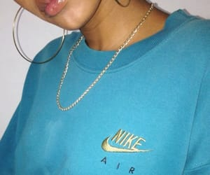 blue, girl, and nike image
