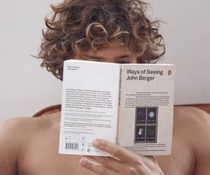 boy, book, and reading image