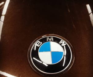 bmw, cars, and brown image