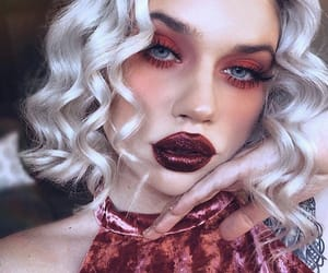 blonde, pretty, and red image