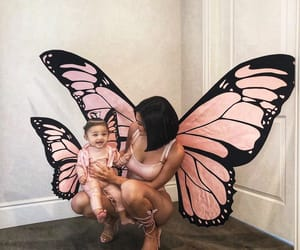 baby, kylie jenner, and model image
