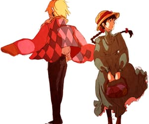 Howl, ghibli, and howl's moving castle image