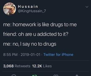 boi, drug, and funny image
