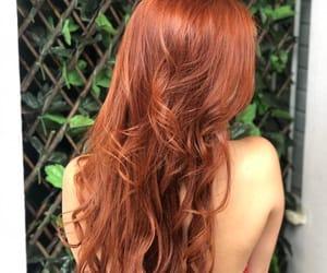 fox, girl, and hair image
