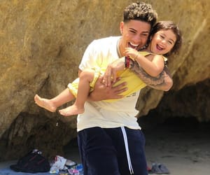 beach, father, and austin mcbroom image