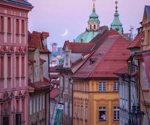 city, architecture, and prague image