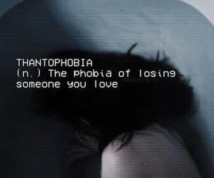 grunge, sad, and phobia image
