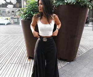belt, gucci, and outfit image