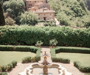 fountain, green, and italy image