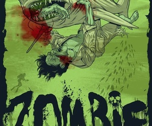 zombie and shark image