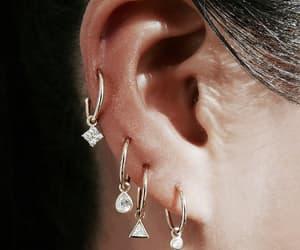 fashion, beauty, and earrings image