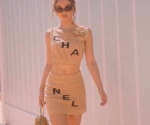 chanel and lily rose depp image