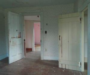 door, old, and room image