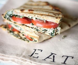 food, eat, and sandwich image