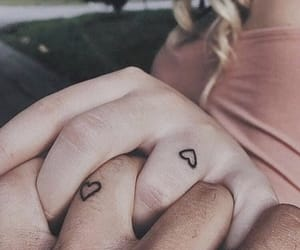 couple, hands, and inspiration image