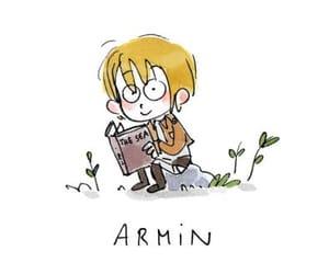 anime, snk, and armin arlert image