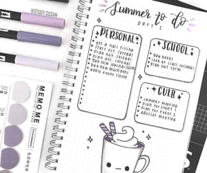 bullet journal, bullet, and cute image