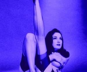Dita von Teese, sexy, and black and white image