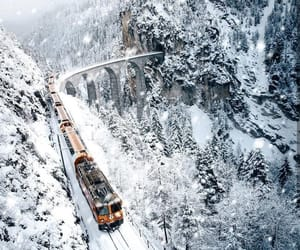 photography, train, and travel image