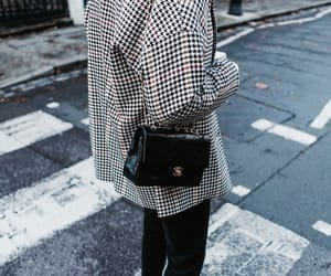 bag, blazer, and bloggers image