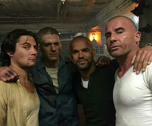 cast, prison break, and tv show image