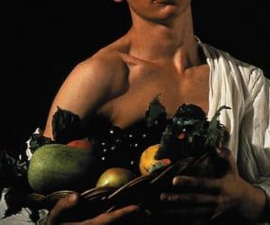 caravaggio, art, and fruit image