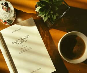 books, coffee lover, and coffee image