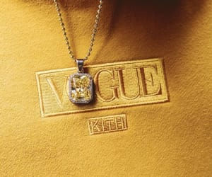 vogue, yellow, and style image