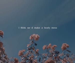 flowers, quotes, and love image