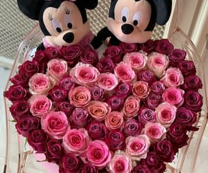 disney, flowers, and girls image
