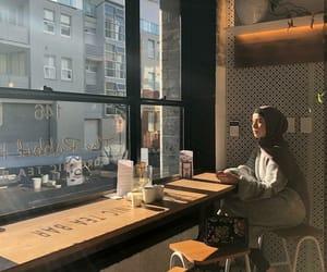 cafe, fashion, and morning light image