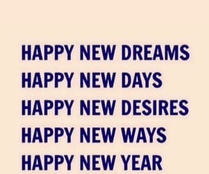 dreams, New Life, and new year image