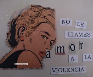 violence, frases, and woman image