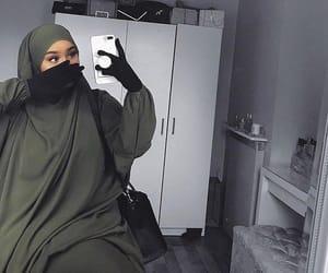 hijab, hijab style, and cute image