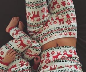 christmas, baby, and winter image
