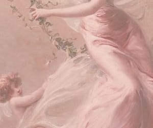 pink, aesthetic, and painting image