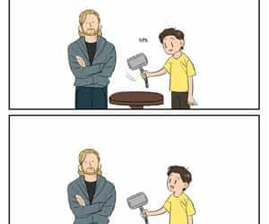 Avengers, comics, and funny image